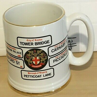 Lord Nelson Pottery London - London Boroughs - Mug Cup • 8.95£