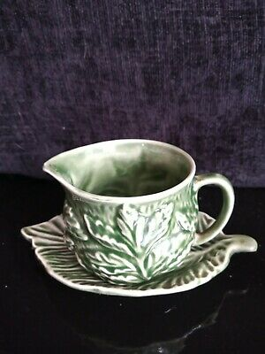 Green Jug And Serving Plate Sylvac UK Sell Only • 7£