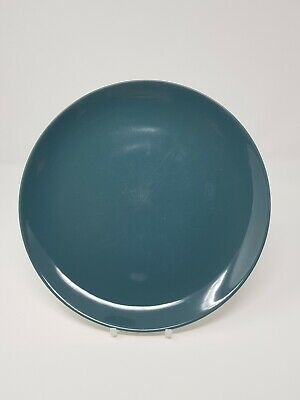 Poole Cameo Blue Moon Contour Coupe 10  Dinner Plate • 4£