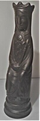 Wedgwood Arnold Machin Basalt Queen In Perfect Condition, Dated 1966 • 18£