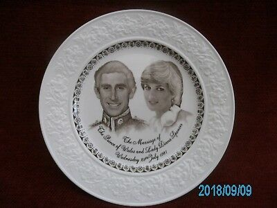 Commemorative Plate The Marriage Of Charles And Diana 29 July 1981 • 3.50£