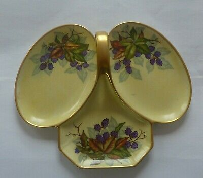 Glasgow Girls  Hand Painted Trefoil Dish By Mary Ferguson Coffield • 19.99£