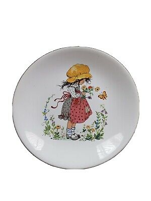 Purbeck Pottery Plate Little Girl • 5£