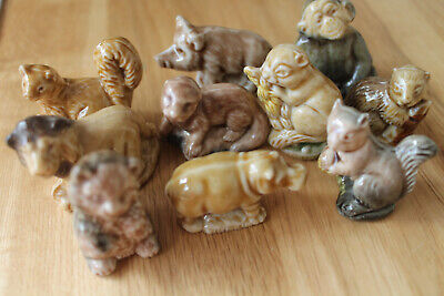 WADE WHIMSIES DOGS CATS ANIMALS VGC £3.50 Pp For Any Amount Choose From Menu • 2.50£