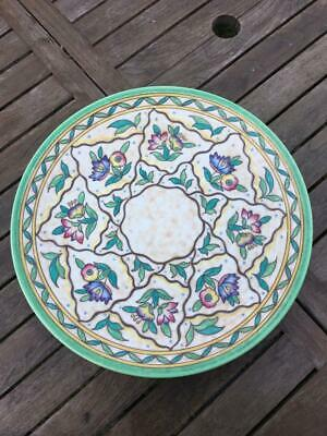 Crown Ducal Signed 17  Charlotte Rhead Charger 6016 Pattern  PERFECT C1939 • 225£