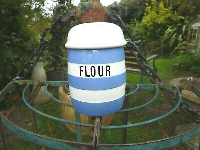 Vintage T G Green Cornish Wear Blue Flour Sifter Shaker  • 8.99£