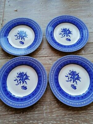 Churchill Out Of The Blue Side Plates X 4 • 3.20£