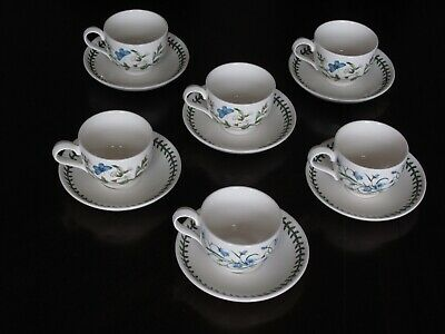 6 Portmeirion Cups And Saucers • 8.80£