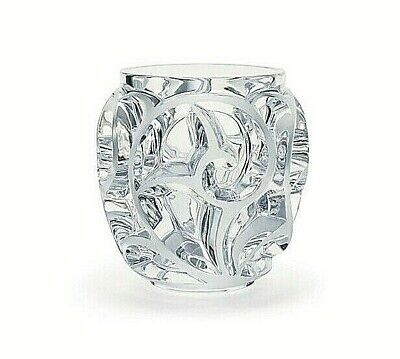 LALIQUE CLEAR TOURBILLONS SMALL VASE. Ref: 10549900 RRP £620 • 474.30£