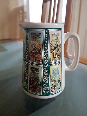 Ringtons PICTURE CARD Jug Small Eastgate Potteries • 4£