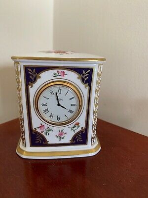 Spode Cabinet Collection Clock • 9.99£