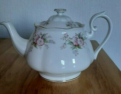 Sheriden Teapot Staffordshire Bone China Vintage England * Excellent Condition * • 9.99£