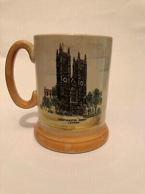 Tankard -  Houses Of Parliament/Westminster Abbey - Arthur Wood • 6£