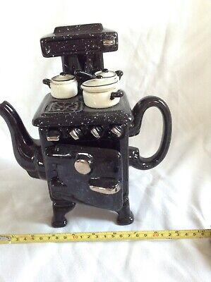 Cardew Novelty Collectable Lge Teapot Wartime Stove  Perfect Condition • 24£