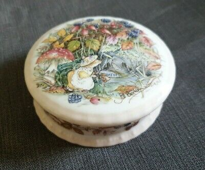 Royal Doulton Brambly Hedge Autumn Trinket Box • 6.50£
