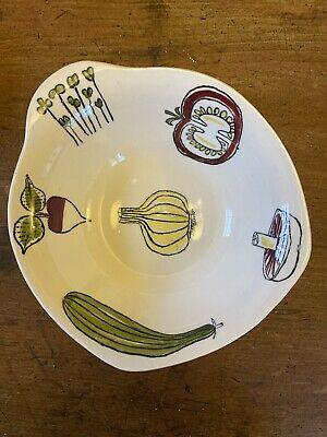 Midwinter Salad Ware  Bowl Designed By Terence Conran In 1960s • 8.50£