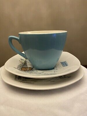 Midwinter Cannes Cup ,Saucer And Side Plate • 6.99£