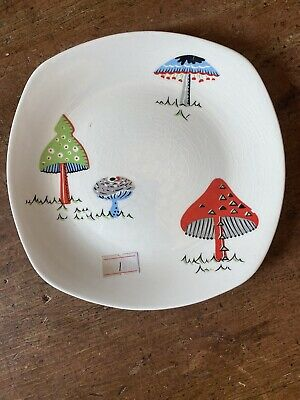 Midwinter Toad Stool Side Plate 6 1/2 Inch • 9.99£