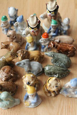 Wade Whimsies Animals Cats Dogs Ducks Giraffe Some Have A Fault Ideal For Kids • 5£