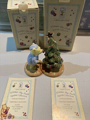 Royal Doulton Winnie The Pooh Collection - WP41 & 42 Christmas Collection • 40£