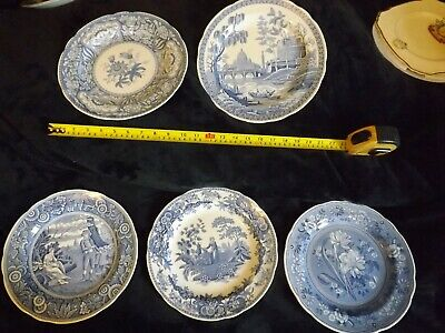 Joblot Spode Blue And White Decorative Plates (5) • 20£