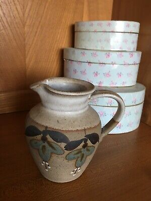 Attractive Country Style  Pottery   Jug With Ivy Decoration • 2.50£