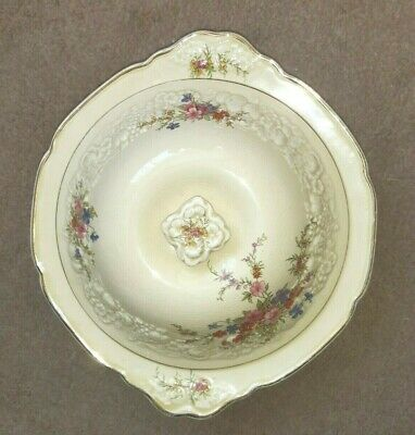 RARE CROWN DUCAL FLORENTINE MARIE TUREEN With LID EMBOSSED FLORAL 1930s VINTAGE • 32.97£