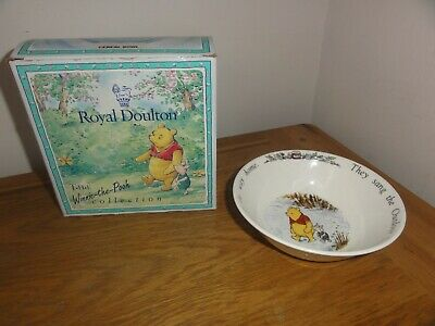 Boxed Royal Doulton   Winnie The Pooh  Cereal Bowl  • 11.99£