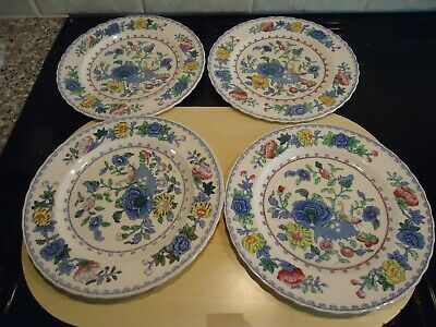 Four Masons Ironstone  Regency  Pattern Salad Plates,22.5 Cms Diameter • 10£