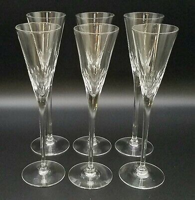 (6) Orrefors Crystal Prelude Clear, Schnapps Glasses, 6 3/4 , Multiples, EUC • 73.14£