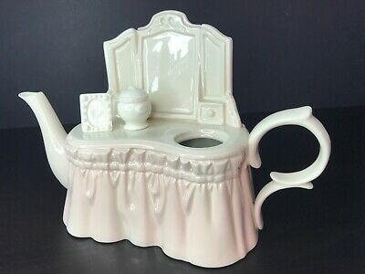 Paul Cardew Large Womens Dressing Table Teapot. Excellent Condition • 29.99£