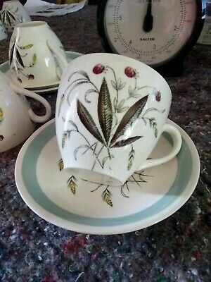 Vintage Alfred Meakin Hedgerow Pattern Tea Cup And Saucer • 3.99£