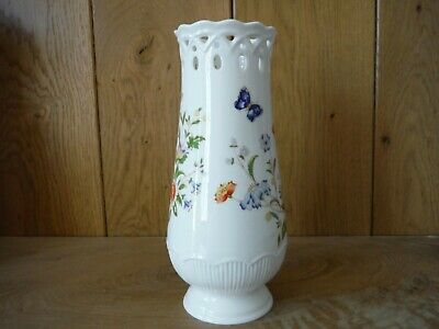 Aynsley Cottage Garden Tall Vase Chantille (N004) • 10£