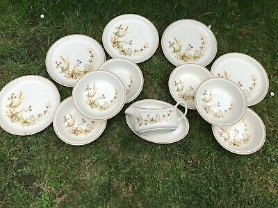 M&S Harvest Plates Bowls And Gravy Boat • 20£