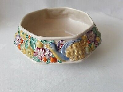 Lovely Clarice Cliff Newport Pottery Fruit Bowl C1937. • 45.80£