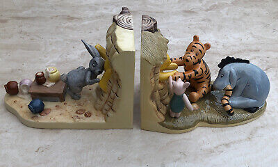 Royal Doulton Winnie The Pooh Bookends WP 55 & 56 EXCELLENT CONDITION • 80£