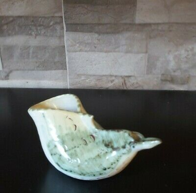 Strange Little Rye Pottery Abstract Bird Form Vase. Wally Cole? • 0.99£