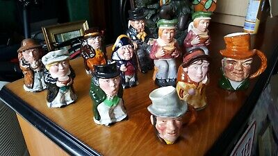 Oliver Twist Toby Jugs Collection Staffordshire Pottery Collectable Rare • 39.99£