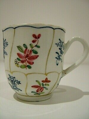 First Period Dr Wall Worcester Antique  English Coffee Can Cup James Giles 290 • 101£