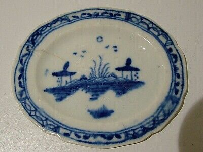 Rare Caughley Island Pattern Childs Miniature Toy Ware Meat Serving Platter 287 • 4.99£
