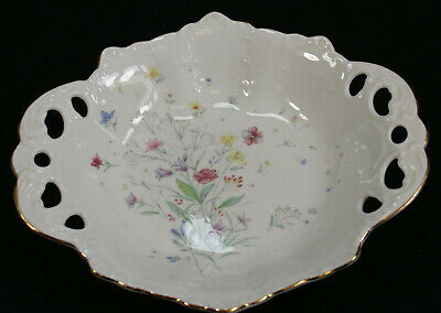 Vintage Aynsley Summer Sketches Bowl. • 18.99£