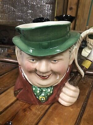Large Vintage Beswick Toby/character Jug Of Tony Weller - • 19.99£