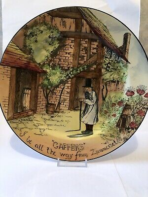 The Gaffer - All The Way From Zummerset Royal Doulton Series Ware • 7£