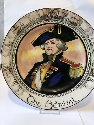 The Admiral - Large  Plate Royal Doulton Seriesware • 5£