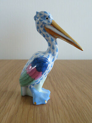 Herend Porcelain Pelican. Mint Condition. • 80£