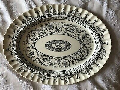 Oval Platter Large 15  X 19  With Markings On The Back  • 13£