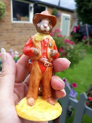Royal Doulton Cowboy Bunnykins Special Edition Boxed With Certificate  • 16£