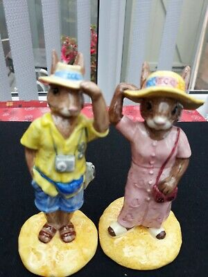 Royal Doulton Bunnykins Sightseer &Tourist Exclusively For Collecters Club... • 10£