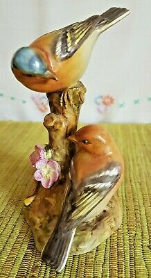 Royal Worcester Pair Of Glazed Bone China Chaffinches RW 3364 • 9£