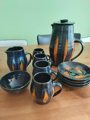 Fosters Redruth Pottery Coffee Set • 20£